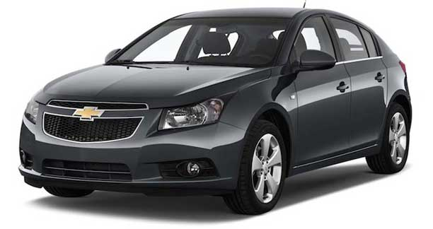 location de CHEVROLET CRUZE LT en Tunisie