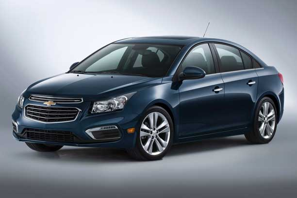 photos de la CHEVROLET CRUZE LT BERLINE