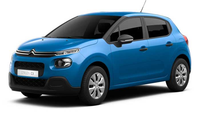 location de CITROEN C3 PURETECH LIVE en Tunisie