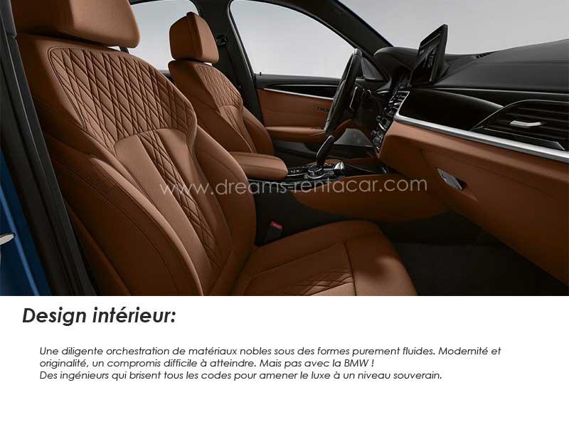 location de BMW 520i BUSINESS LINE PLUS en Tunisie