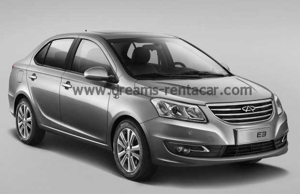 photos de la CHERY E3 BERLINE