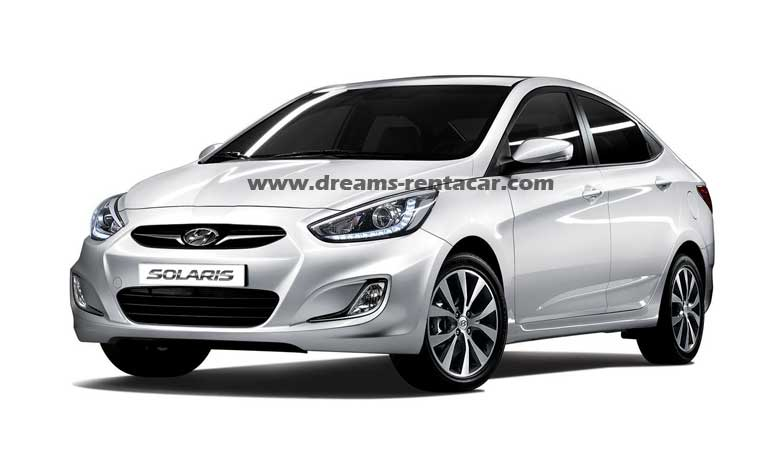location de HYUNDAI SOLARIS en Tunisie